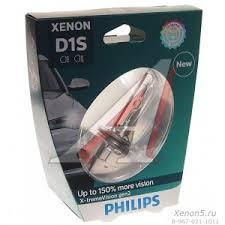 Ксеноновая <b>лампа</b> D1S <b>Philips X</b>-<b>treme</b> Vision Gen2 +150 ...
