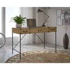 office writing table. Kathy Ireland Office Ironworks Vintage Golden Pine 48W Writing Desk - Free Shipping Today Overstock 18529803 Table R