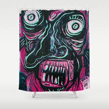 badass shower curtains. Pink Crazy Fella Shower Curtain Badass Curtains