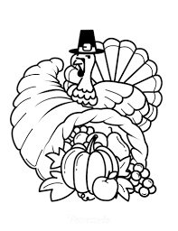 Free printable coloring pages for children that you can print out and color. 70 Thanksgiving Coloring Pages For Kids Adults Free Printables