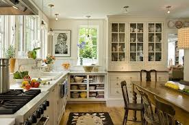lighting kitchen sink kitchen traditional. Porcelain Kitchen Sink Farmhouse With Wooden Chairs Cross Handles Lighting Traditional