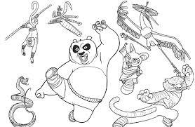 Disegni Da Colorare Primavera Kung Fu Panda Mamme Magazine
