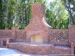 how to make outdoor fire pit with bricks designs