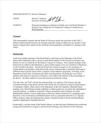 Persuasive Memo Examples How To Write A Memo To The Board Of Directors