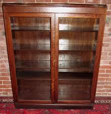 antique glass door bookcase antique furniture antique tiger oak double glass door bookcase exceptionally sweet condition