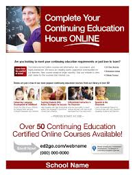 The Flyer Ads Teacher Professional Development Full Page Flyer Ad