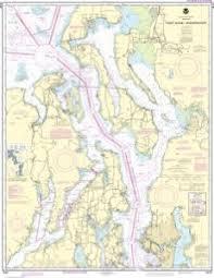 Oceangrafix Noaa Nautical Chart 18441 Puget Sound Northern