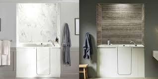 walk in tub shower kohler bath cost average of