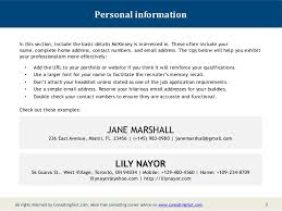 Best Ideas of Resume Sample Personal Information For Letter Template