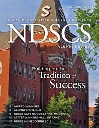 alumni review - North Dakota State College of Science