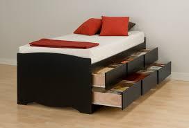 twin platform bed with drawers. Storage Bed Frame Twin Elegant With Ideas \u2014 Modern Platform Drawers