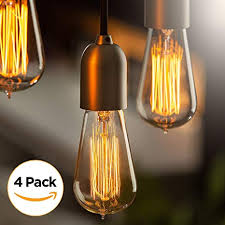 Retro lighting Exterior Edison Light Bulbs By Scandic Gear Pack 60 Watts Vintage Light Bulbs Amazoncom Edison Light Bulbs By Scandic Gear Pack 60 Watts Vintage