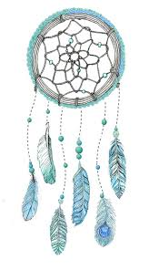 Colorful Dream Catcher Tumblr me Illustration art mine myself dream feathers colorful ink 47