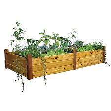 gronomics raised garden bed 48x95x19
