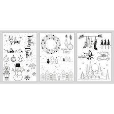 Find this pin and more on ausmalbilder/malvorlagen by arskreativ. Fenster Malvorlagen Winter Xmas Vorlagen Kreidemarker Kreidestift Weihnachten Eur 10 99 Picclick De