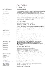 Internal Auditor Resume Objective resume for auditor foodcityme 80