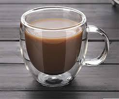 Buy MosQuick® Double Wall Glass Light Weight <b>Coffee</b> Cups ...