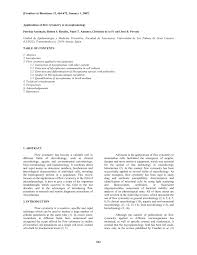 Resume With References PDF) Applications of flow cytometry to...
