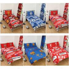 Liverpool Fc Bedroom Accessories Football Team Single Amp Double Duvet Cover Sets Arsenal Man U