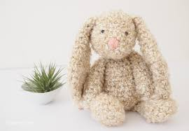 Free Crochet Bunny Pattern Custom Classic Stuffed Bunny Crochet Pattern For Easter One Dog Woof
