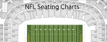 Chicago Bears Seating Chart Virtual Nfl Seating Charts Stadium Maps Tba
