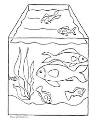 All of it in this site is free, so you can print them as many as you like. Fish Coloring Pages
