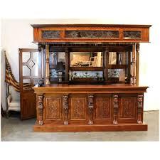 corner bars furniture. Tiffany Glass CANOPY BAR TAVERN Pub Furniture With Wine Racks Lion Crest Antique Corner Bars
