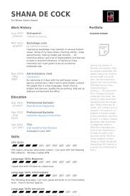 ... Enjoyable Inspiration Dishwasher Resume 9 Dishwasher Resume Samples ...