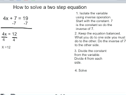 evaluating numerical expressions math variable equations worksheets 2 step with answers beautiful solving inverse operations using i