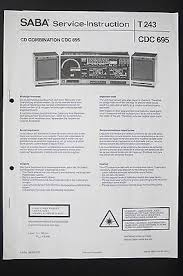 delphi dea500 cd player radio combination what's it worth Delphi Dea500 Wiring Diagram saba cd combination cdc 695 service instruction manual diagram wiring diagram delphi radio dea500 wiring diagram