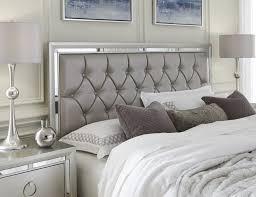 High Quality Bedroom Sets Upholstered Tufted Bed Frame Marble ...