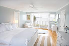 coastal calmness white bedroom decroation