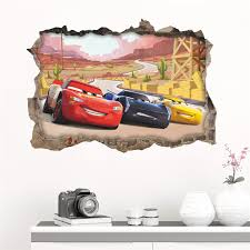3d Disney Pixar Cars Wall Sticker