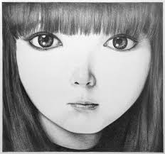 eye was on my anime face drawing