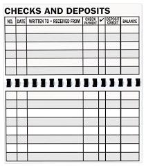 Giant Print Check Register Single Walmart Com