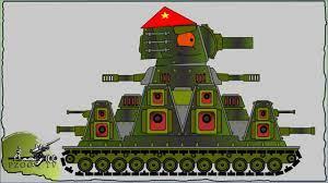 Cách vẽ xe tăng КВ-44М Việt Nam   Phim hoạt hình về xe tăng