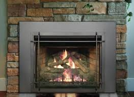 gas fireplace insert build frame for ventless fireplace