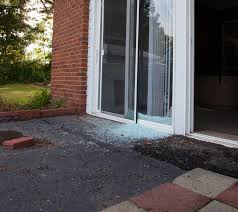 sliding glass door break burglary