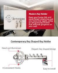 Key Holder For Wall Amazoncom Decorative Wall Mounted Key Holder Multiple Key