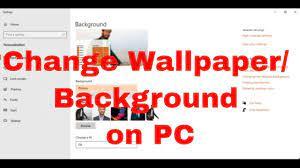 Wallpaper On Your PC Desktop Or Laptop ...