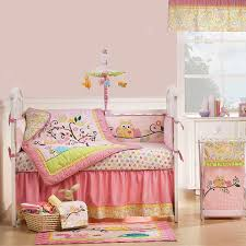 breathtaking ladybug crib bedding with window valance and pink wall