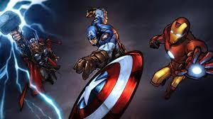 iron man captain america thor 10k 2y jpg