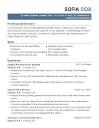 Best Client Support Specialist Resumes Resumehelp