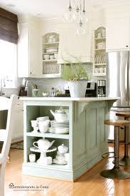 farm style kitchen island. farmhouse kitchen ~ love the island! farm style island