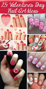 25 Valentine's Day Nail Art Ideas Working as a Wonderful Reminder ...