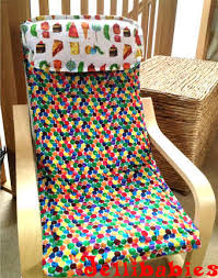 Childrens ikea poang chair cover