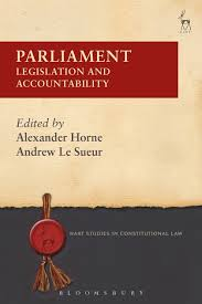 parliament legislation and accountability hart studies in  parliament