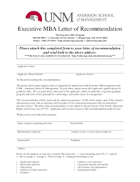 Sample Recommendation Letter For Isb Mba Huanyii Com