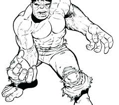 Hulk Coloring Pages Free Queenandfatchefcom