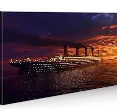 Bilder auf Leinwand Titanic 1p Titanik